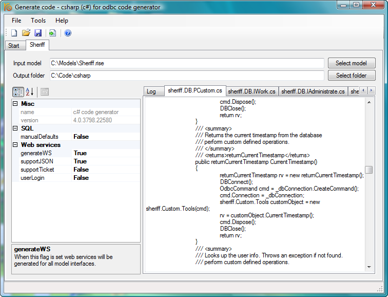 Windows 7 RISE C# code generator 4.4 full